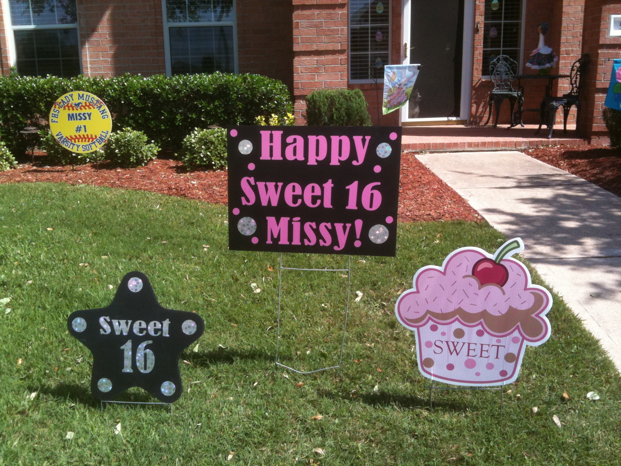 birthday lawn decorations cleveland image inspiration of cake