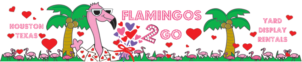 Flamingos 2 Go - Have a Happy Flocking Day!