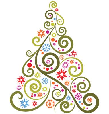 tags abstract christmas tree-#22