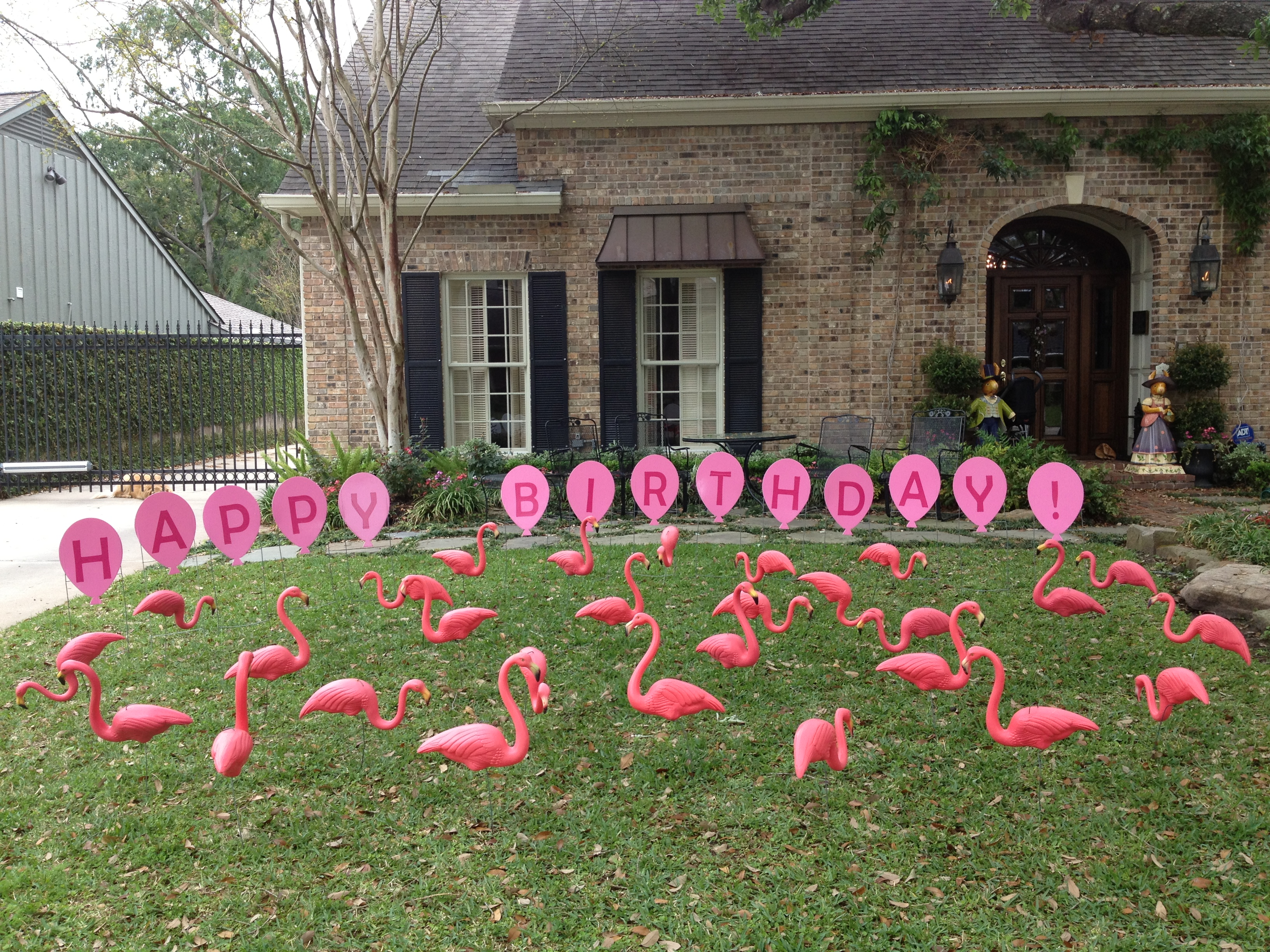 Tax day sale flamingos 2 go for Yard decorations for sale