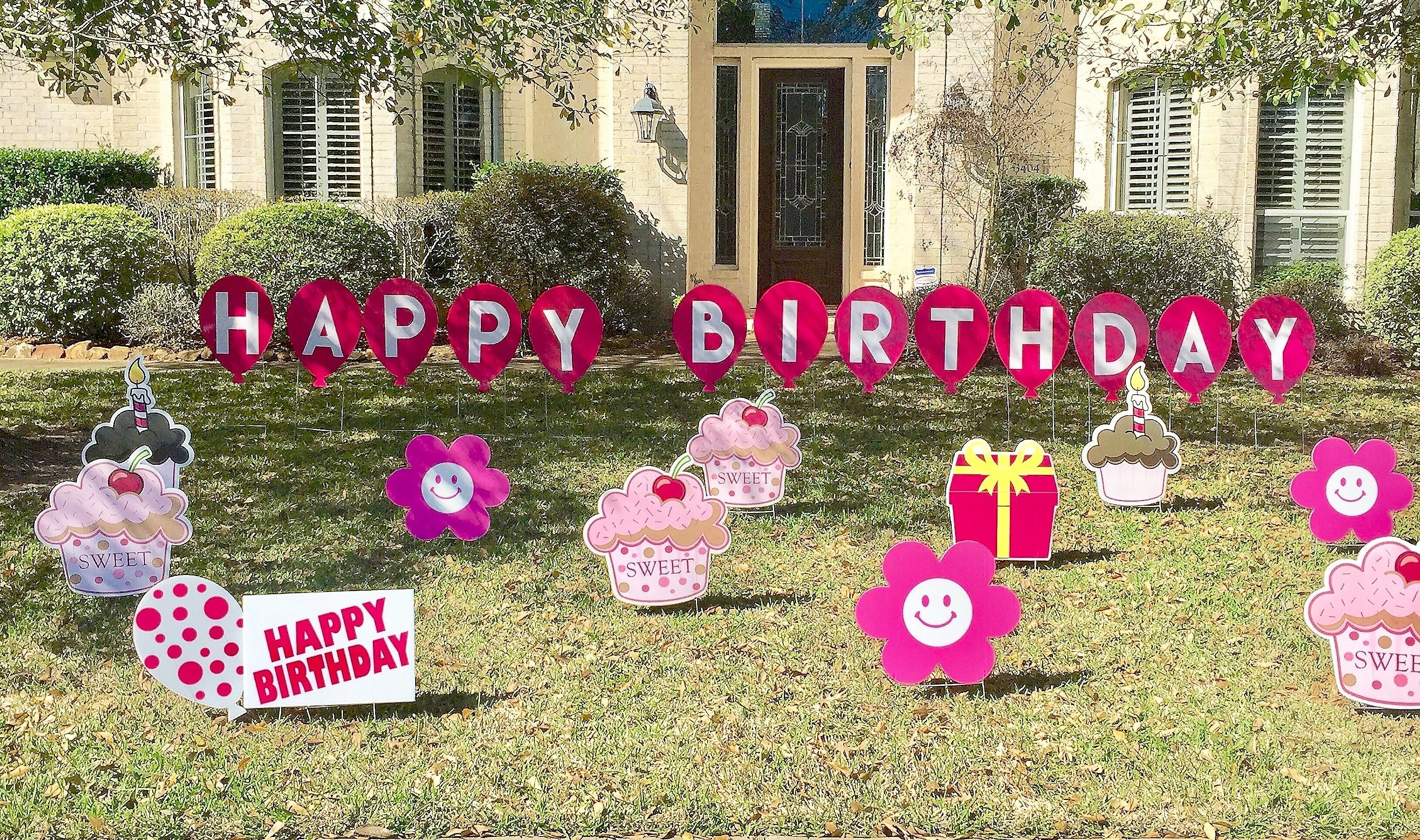 Flamingos 2 go delivering smiles one celebration at a time pinkbirthdayballoons kristyandbryce Images