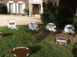homecoming proposal football