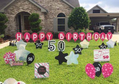 50thbirthday-pinkblacksilver