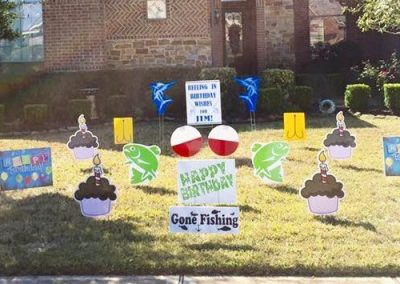 Fishing Birthday Decor
