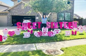 The Cutest Sweet 16 Guest of Honor! | Flamingos 2 Go