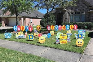 13th birthday balloons emojis