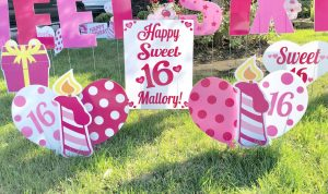 personalized sweet 16 birthday