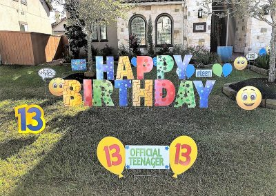 Bright Birthday Decorations